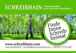 Schreibhain_Anzeige.indd